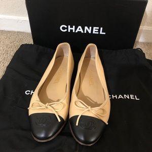 Chanel Ballerina Flats Size 36